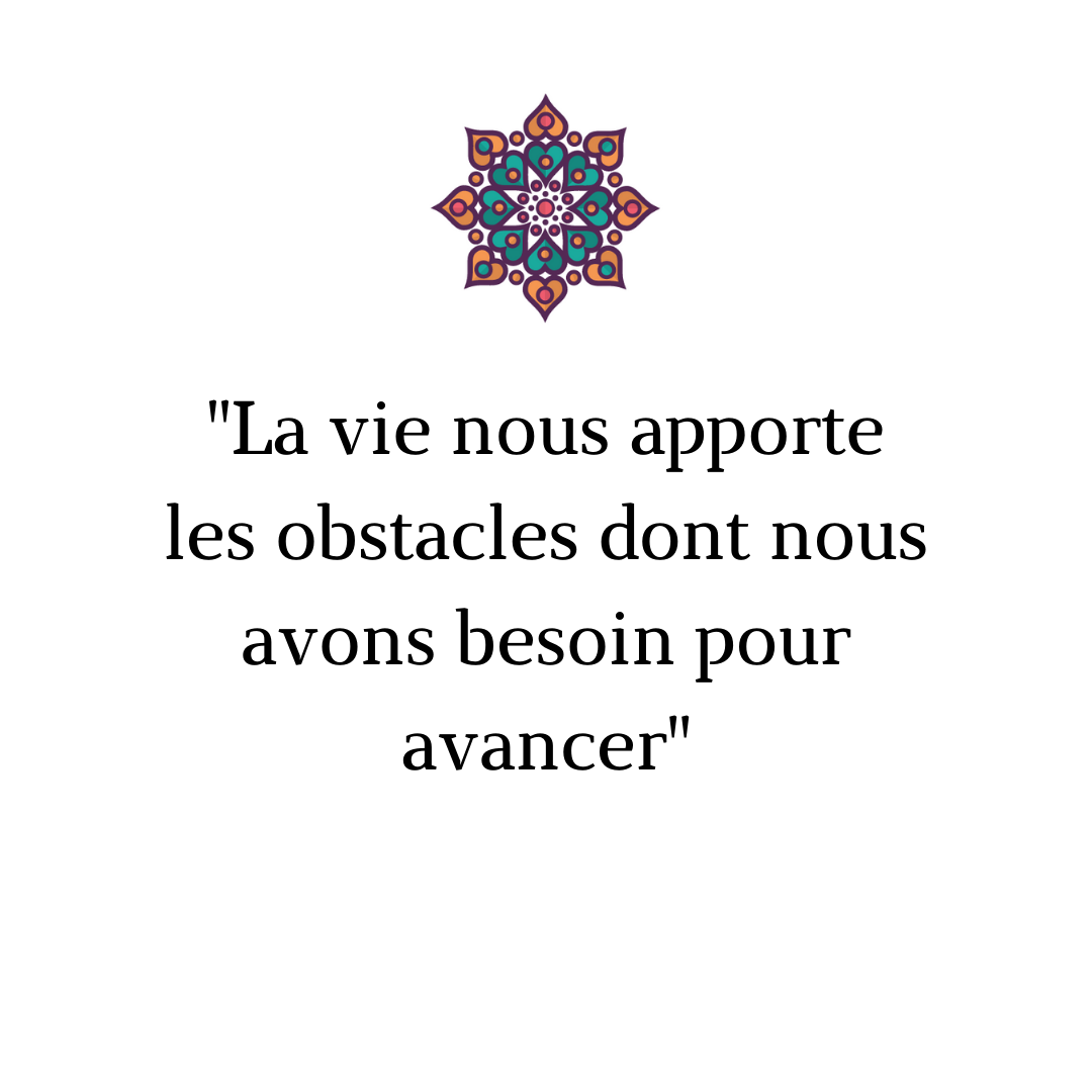citation sur obstacle stress hypnose